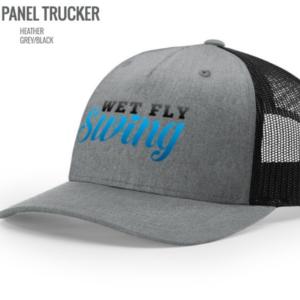 wet fly swing trucker hat