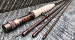 Our mission is simple… to imagine, create and distribute unique, well-built fly fishing rods at a price that real people can afford. We craft our rods in hopes they inspire a revival… a return to the pure and simple spirit of adventure… moments that stir the soul. Our distinctive style is certainly derived from the classics; from our custom reel seats turned from strikingly grained burl woods, to our hand-turned cork grips, and high performance rod blanks, every one of our rods whispers the beginning of a unique story- One that's bound to be epic. Head over to MoonShineRods.com and use wetflysociety in the giftcard box for 10% off any rod puchase.
